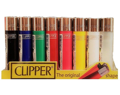 CLIPPER LIGHTERS Original Lighters Gas Refillable Genuine Flint Lighters