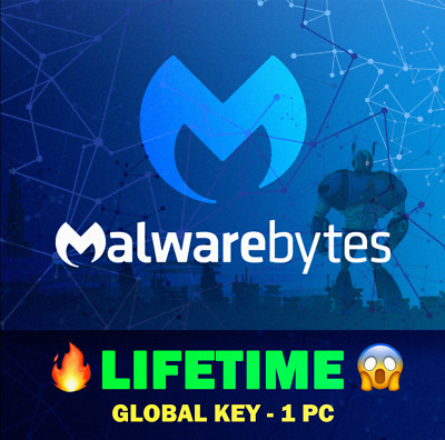 ✅Malwarebytes Premium Lifetime Key [INSTANT DELIVERY] ✅ Original PC Key GLOBAL🔑