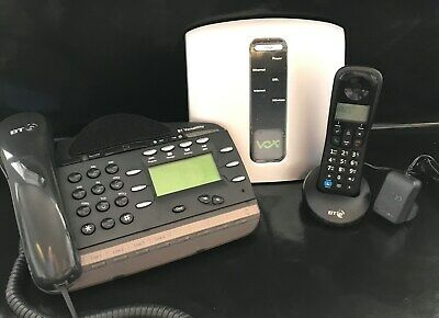 VOX (2 Lines) Home Office Phone System Package - Includes 4 Phones