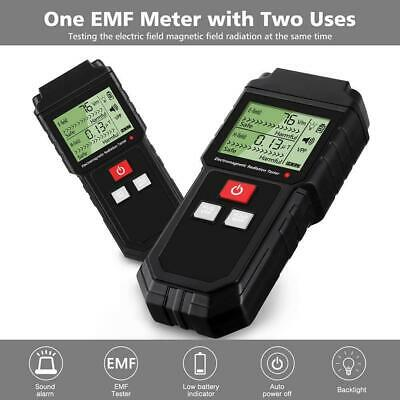 Mini Electromagnetic Radiation Tester EMF Meter Electric Magnetic Field Detector
