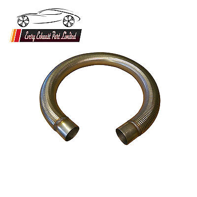 Exhaust Pipe Stainless Steel Polylock Flexible Tube With Collars Any Size