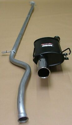 Peugeot 106  1.1 1.4 (00-04)  Sportex Rear Box + Race Tube Exhaust System S3""