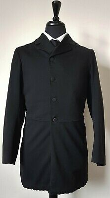 Very Rare Vintage Edwardian Single Breasted Frock Coat 38