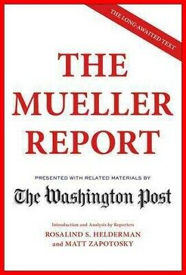 The Mueller Report by The Washington Post -NEW 2019- [PDF] delivery via @Mail