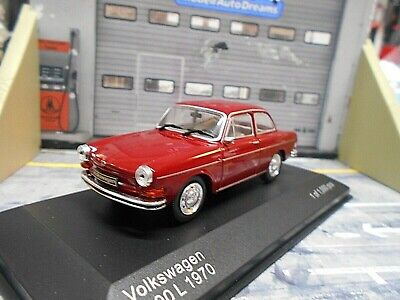 VW Volkswagen 1600L 1600 L rot red Limousine 1961 - 1970  IXO White Box 1:43