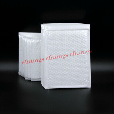 50 Pcs Poly Bubble Mailers Padded Envelopes 9x12 Mailer Shipping Bags Self Seal