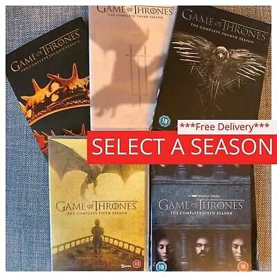 Game of Thrones Season 1 2 3 4 5 6 7 DVD Box Set Complete Collections 1-7