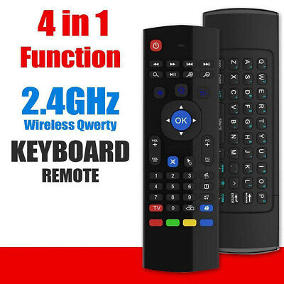 Wireless Air Mouse Remote Control / Keyboard for Android TV Box,PC,Projector,Mac