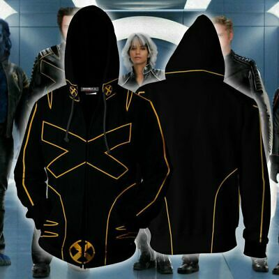 4a9d6777 Marvel X-Men Origins Wolverine Hoodie Jacket Cosplay Costume Sweatshirt Zip  Coat