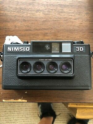 Nimslo 3D Film Camera Tested And Works Great Wigglegram
