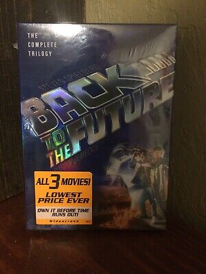 Back to the Future Complete Trilogy DVD, 2002, 3-Disc Set, Widescreen NEW!