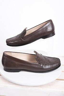 2f37fcc733ed7 Cole Haan Womens Loafers Shoes Sz 9.5 Brown Pinch Genevieve Leather Grand OS
