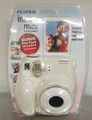 New Sealed FUJIFILM Instax MINI 7s Instant Film Camera 60mm