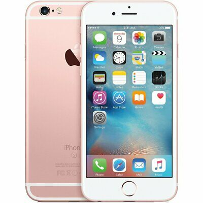 Apple iPhone 6S 32GB A1633 Unlocked Smartphone Rose Gold Brand New/ Open Sealed