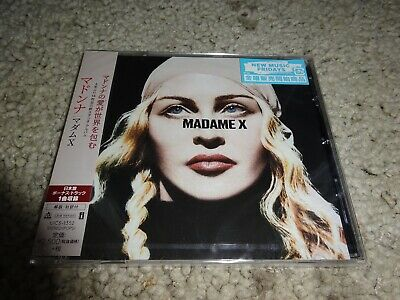 Madonna/'Madame X' *Japan 2019 New/Sealed Cd* Nice Sound/Tunes :^)