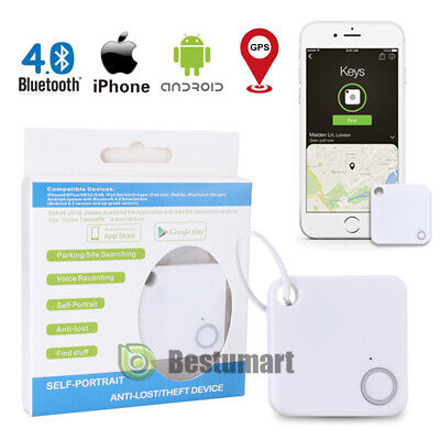 Tile Bluetooth Tracker: Mate Replaceable Battery Item Tracker GPS Key Pet Finder