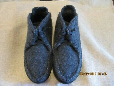 e97587f3 Men's Patagonia Japhy Black Grey Wool Chukka Boots Shoes Size 8 / 41 ~  T11431