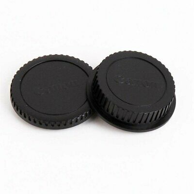 Rear Lens Cap + Body Cover for Canon Camera DSLR SLR EOS EF EF-S