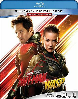 ANT-MAN AND THE WASP - Blu-Ray + DIGITAL COPY MULTI-SCREEN ED. - BRAND NEW!