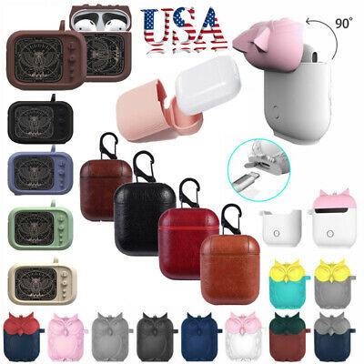 Earphone Charging Case Cover Cute Cartoon Holder Bag For Apple Airpods