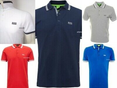 """Hugo Boss Men's Short Sleeve Polo T-Shirt """" New With Tags, Size S To XXL"""""""