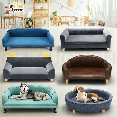 Pet Bed Dog Cat Bed Sofa Couch Cushion Puppy Lounge