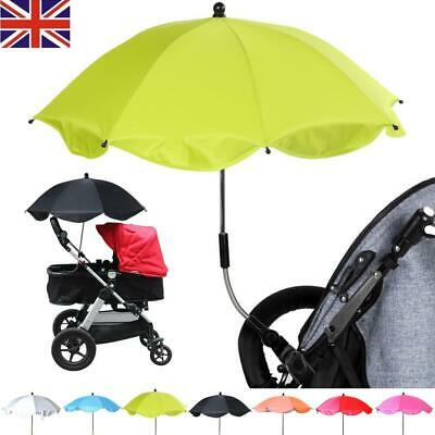 New Universal Baby Buggy Sun Parasol Umbrella Pushchair Pram Stroller shade UK