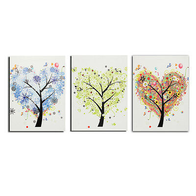 40x30cm LED Luminous Tree Lighted Canvas Painting Art Picture Home Wall Decor