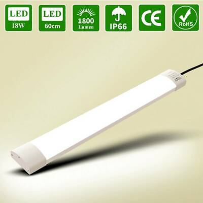 5 x LED Set Feuchtraumleuchte Feuchtraumlampe mit LED Röhre 120 cm 19W IP65 T8