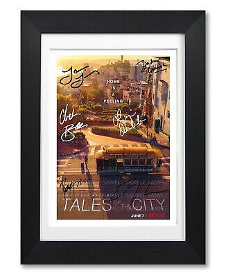 Tales Of The City Cast Signed Poster Tv Show Netflix Print Photo Autograph Gift