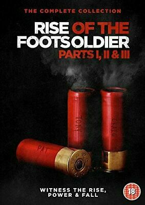 Rise of the Footsoldier 1 2 3 Trilogy DVD Complete 3-Film Collection (Box Set)