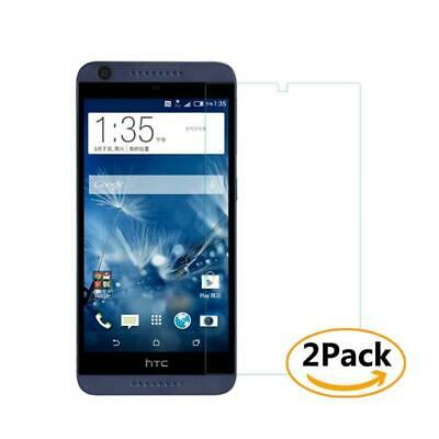 2 Pack Tempered Glass Screen Protector Film For HTC Desire 626 626G 626s