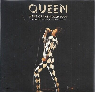 Queen - News Of The World Tour Live At The Summit,Houston,Usa New & Sealed