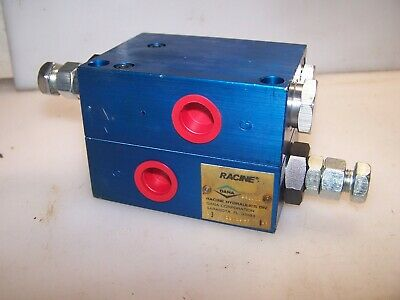 "New Racine Hydraulic Directional Valve 1/2"" Ports Model 257204F"