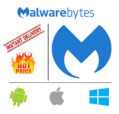 Malwarebytes Premium 2019 Anti-Malware ✔️Lifetime FOR 3 PC ⚡ INSTANT DELIVERY⚡