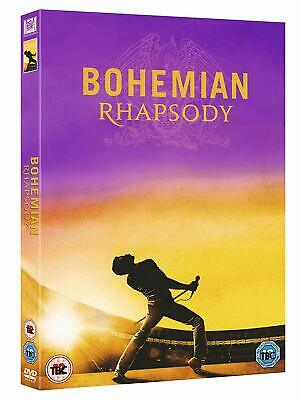 2018 Queen Bohemian Rhapsody Hit Musical Film Movie DVD UK New Free P&P