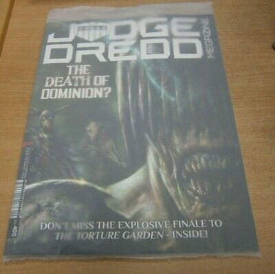 2000AD Judge Dredd megazine #409 2019 The Death of Dominion?