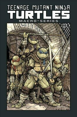 Teenage Mutant Ninja Turtles Macro-Series by Paul Allor 9781684054831