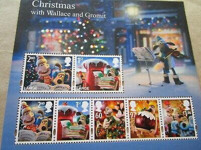 Wallace & Gromit 1st & 2nd class postage stamps x 7 mint condition