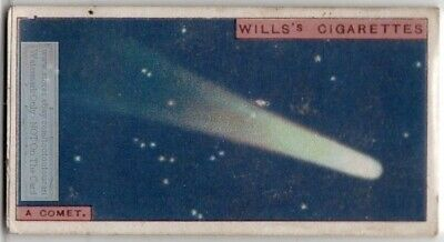 Comet Icy Solar System Body 90+  Y/O Ad Trade Card