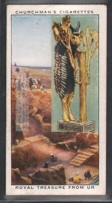 Royal Treasure From Ur Ancient Mesopotamia 80 Y/O Trade Ad Card