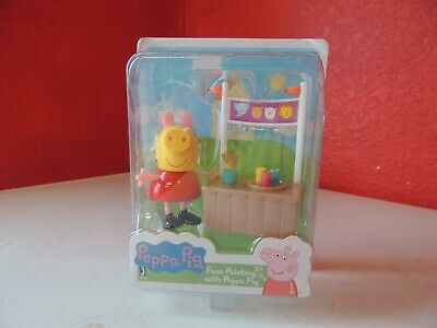 Peppa Pig Friends and Fun Mini-Figure - Face Painting with Peppa Pig