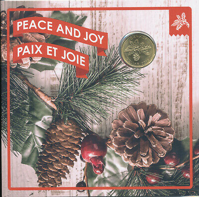 2016 CANADA PEACE AND JOY w/ HOLIDAY LOONIE 5 COIN UNCIRCULATED GIFT SET