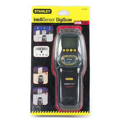 STANLEY 0-77-250 INTELLISENSOR DIGISCAN Wood Metal Live Wire Stud Sensor