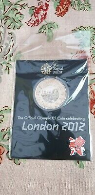 Royal Mint Official Olympic 5 Pound Coin Celebrating London 2012 Sealed