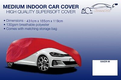 Medium Red Indoor Car Cover Protector Mercedes-Benz SLK 1996-2016