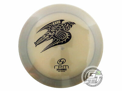 NEW RPM Discs Cosmic XG Kahu 168g Gray Black Stamp Distance Driver Golf Disc