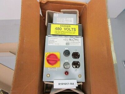 Marelco Pal-Aux Power Disconnect Power 480-0750AEY .800 kva 480/575-120 vac New