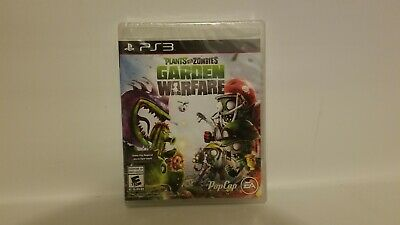 Plants vs. Zombies: Garden Warfare (Sony PlayStation 3, 2014) Sealed Brand New