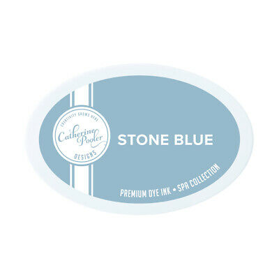 Catherine Pooler Ink Pad Stone Blue  Spa Collection : Zen Garden
